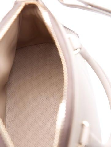 Snakeskin-Trimmed Trevi Bag