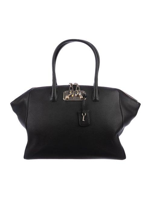 VBH Leather Tote Black