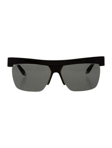 Half Rim Sunglasses  victoria beckham tinted half rim sunglasses accessories