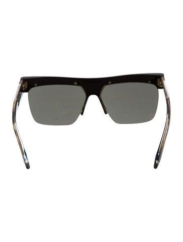 Half Rim Sunglasses  victoria beckham tinted half rim sunglasses accessories