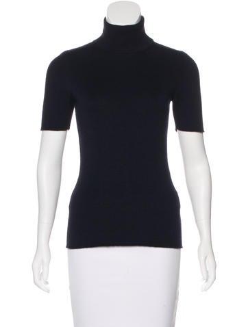 Victoria Beckham Wool-Blend Mock Neck Sweater None