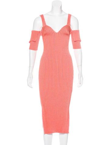 Victoria Beckham 2017 Rib Knit Dress None