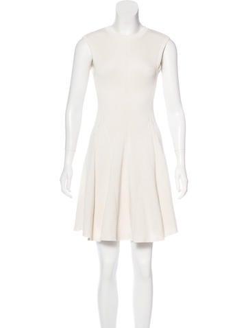 Victoria Beckham Knit Flare Dress None