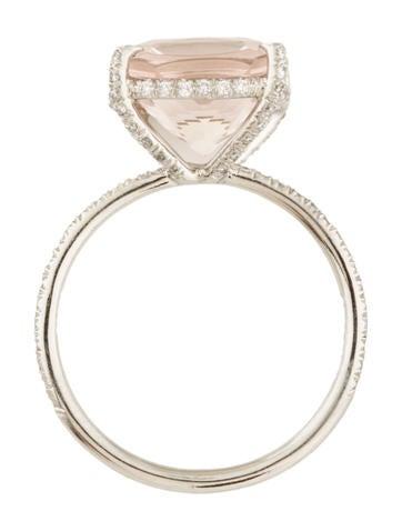 Morganite Cocktail Ring