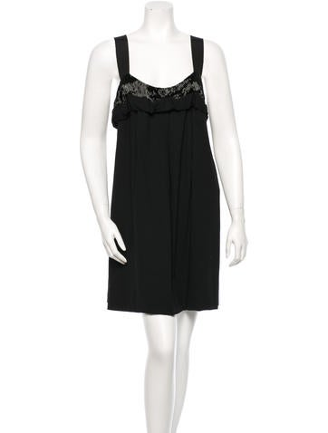 Vera Wang Sleeveless Dress None