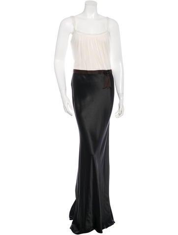 Vera Wang Colorblock Sleeveless Dress None