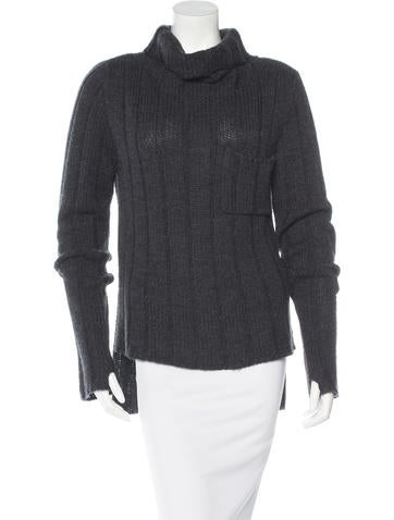 Vera Wang Knit Turtleneck Sweater None