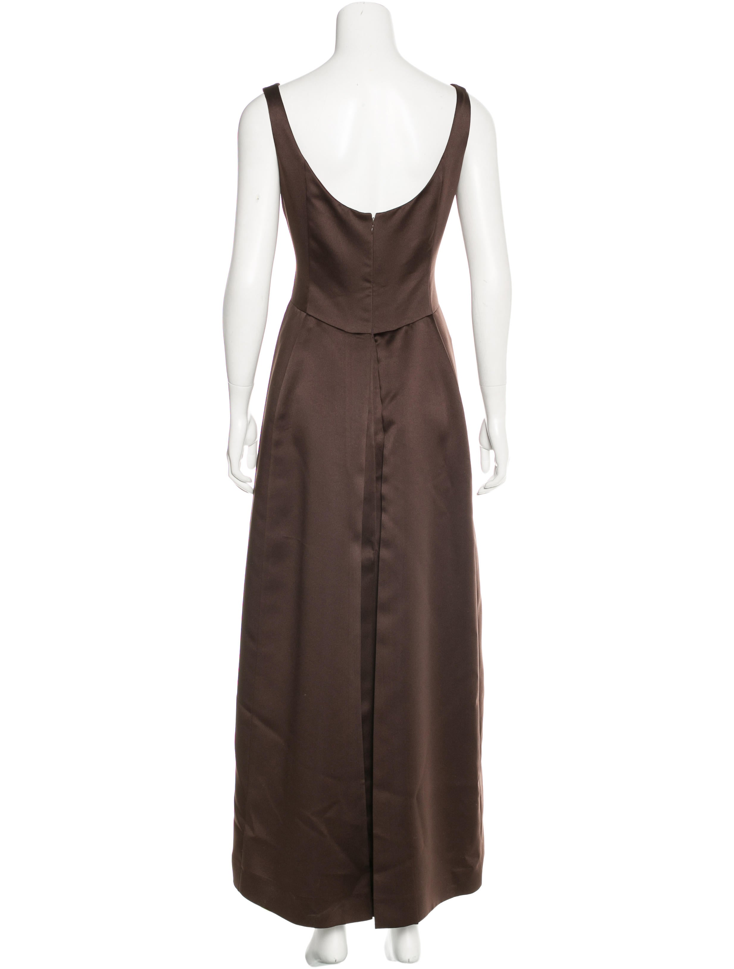 Vera Wang Sleeveless Maxi Dress Clothing Ver24880