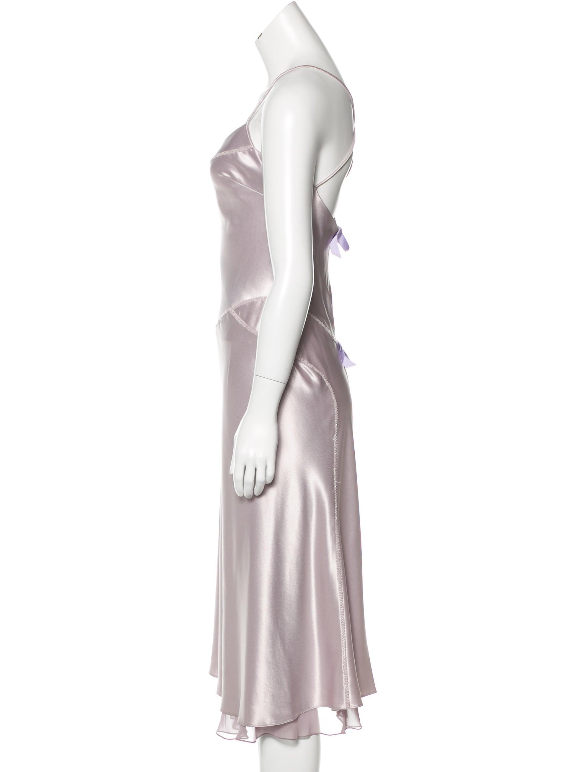 vera wang sleeveless bead embellished dress clothing