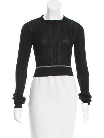 Vera Wang Wool Crop Top w/ Tags None