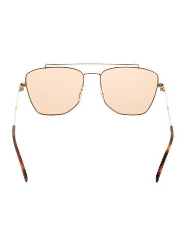Metallic Nyah Sunglasses
