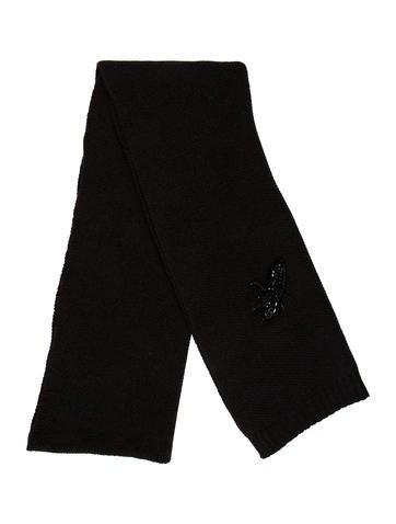 Vera Wang Embellished Wool Shawl None