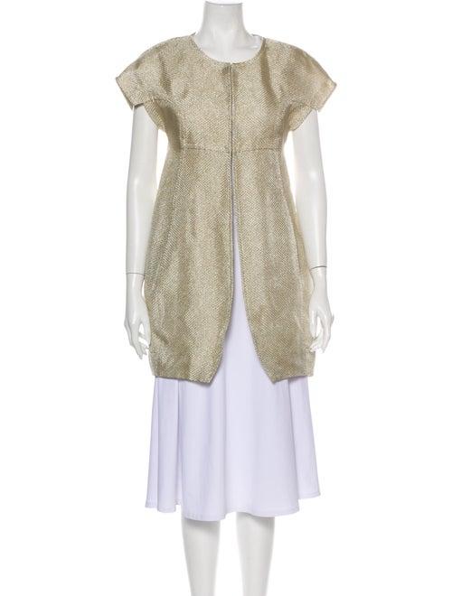 Vera Wang Coat Gold