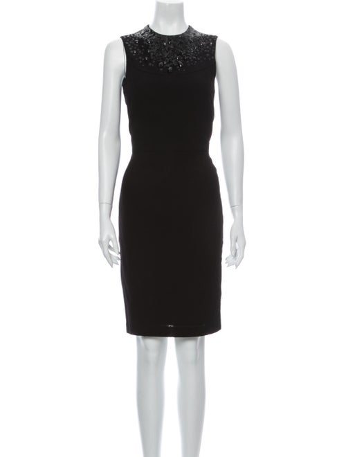 Vera Wang Wool Knee-Length Dress Wool
