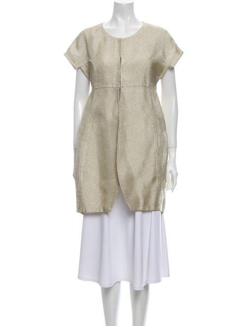 Vera Wang Jacket Gold