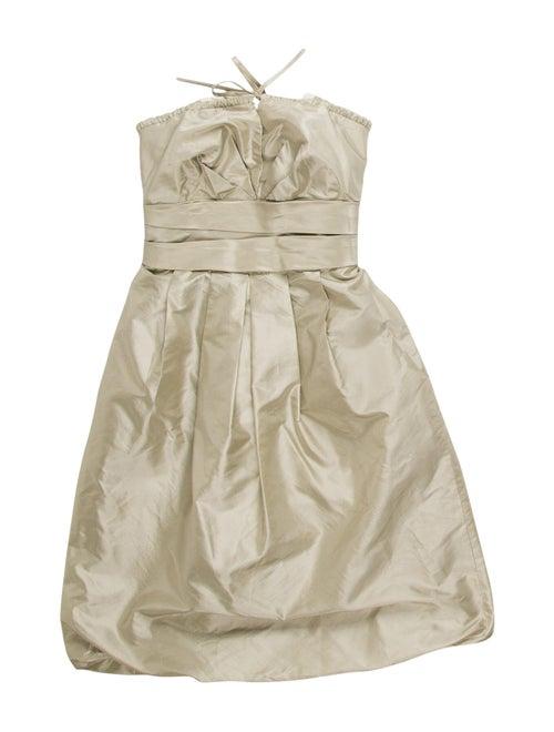 Vera Wang Silk Mini Dress