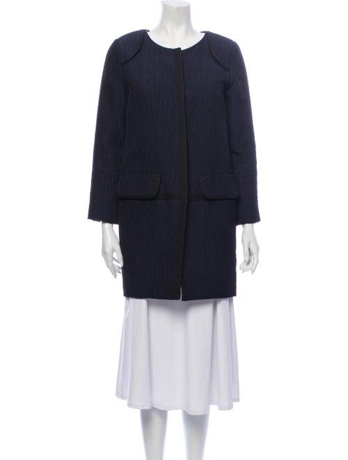 Vera Wang Coat Blue