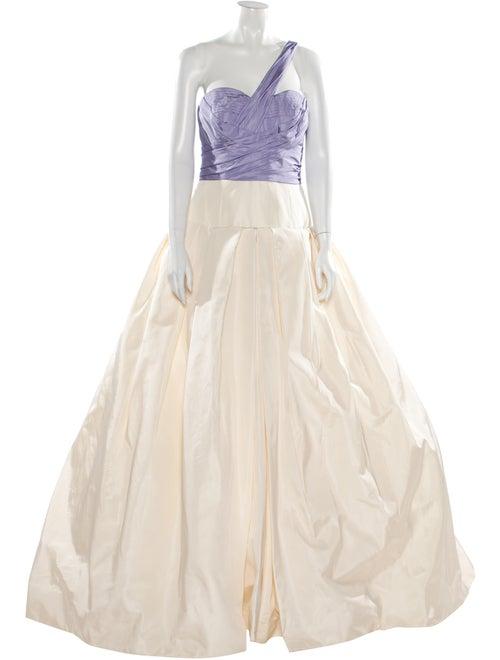 Vera Wang Silk Long Dress