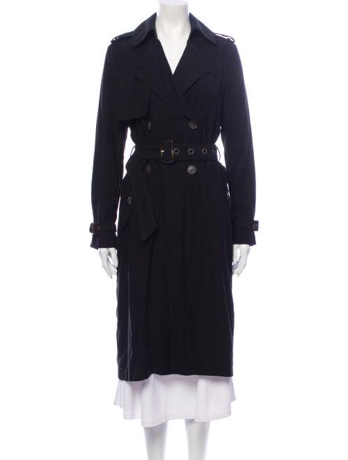 Vera Wang Trench Coat Black