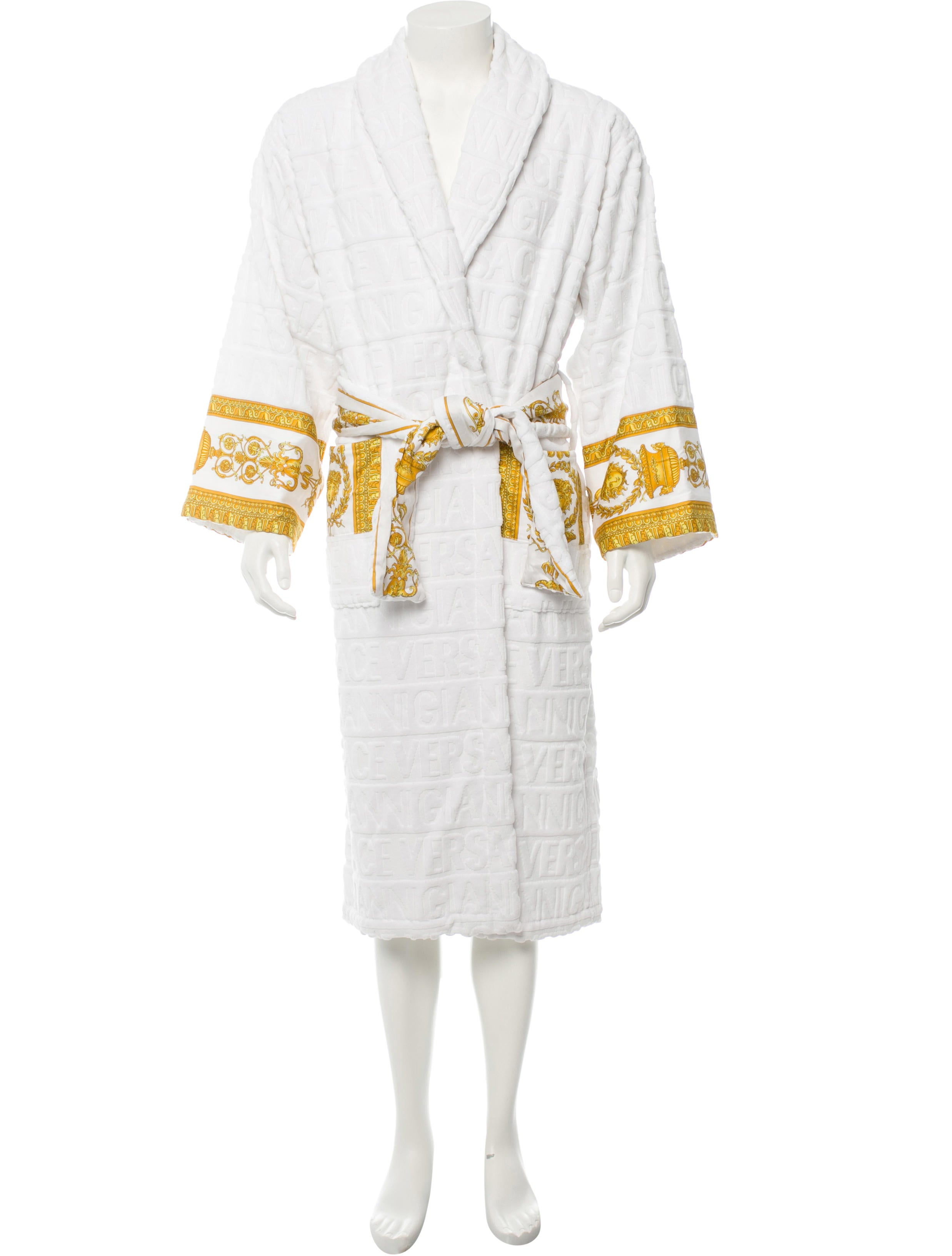 Versace Robe Clothing VES22636 The RealReal : VES226361enlarged from www.therealreal.com size 2475 x 3265 jpeg 265kB