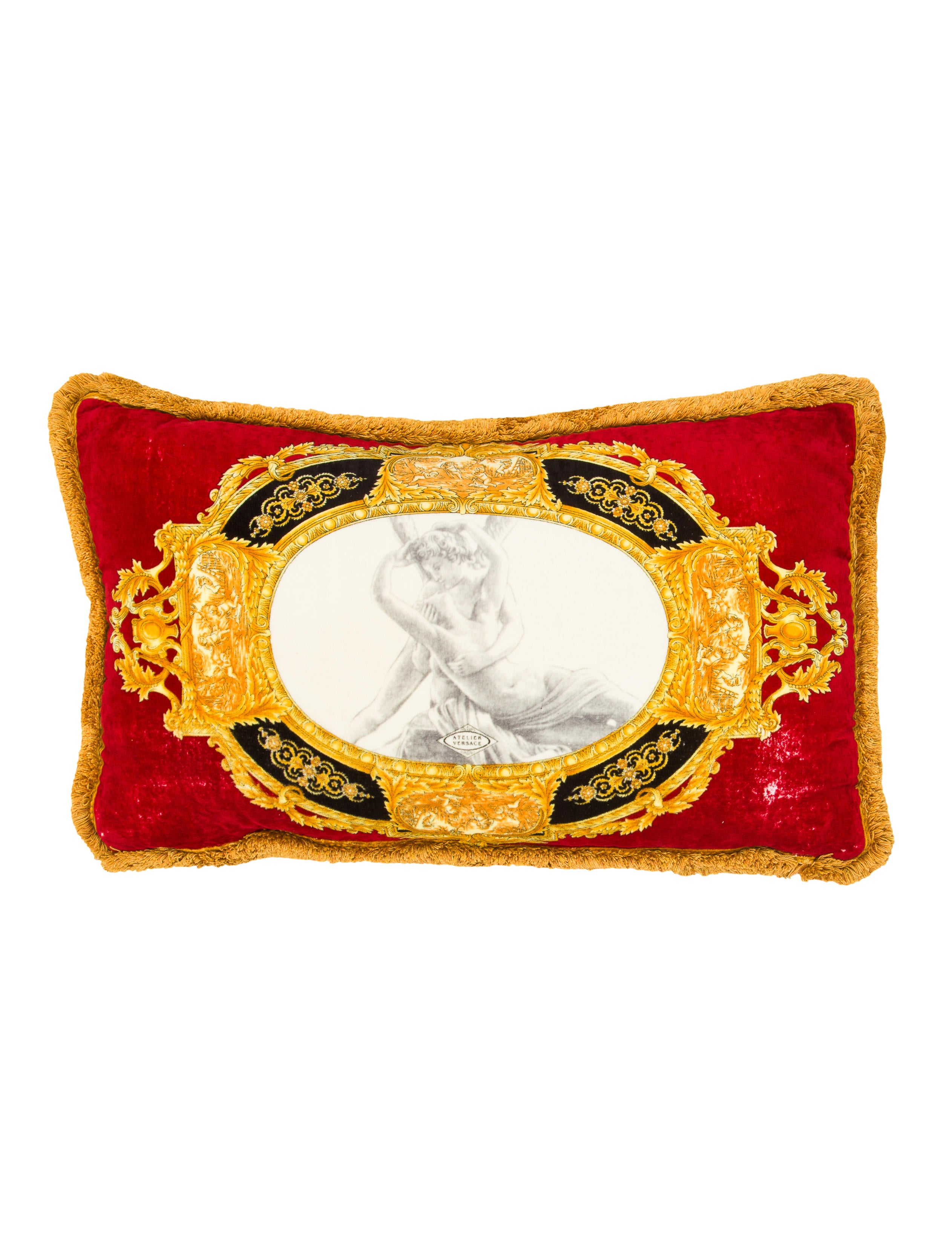 Versace Throw Pillow - Pillows And Throws - VES24498 The RealReal