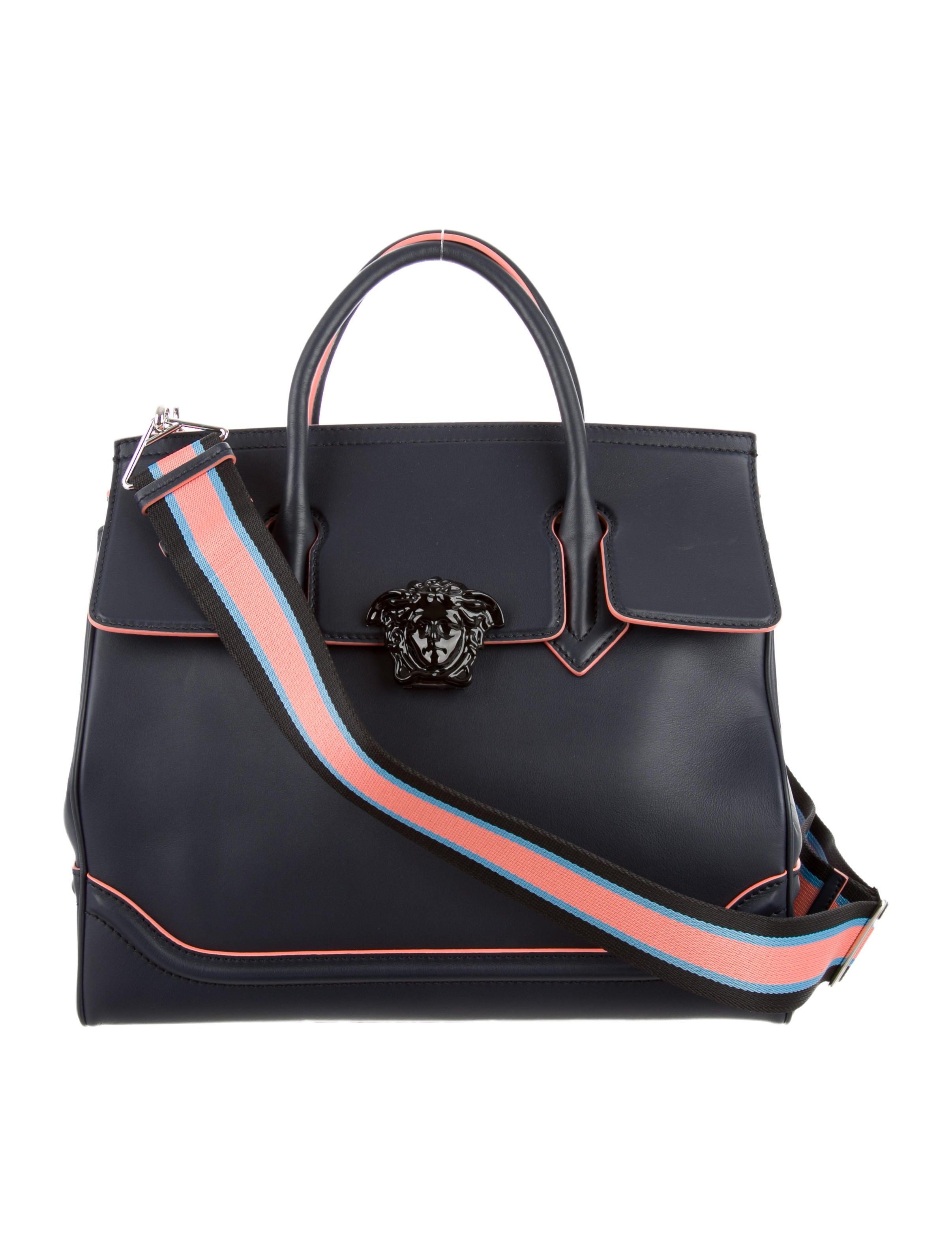 Versace 2016 Medium Palazzo Empire Bag Handbags  : VES265124enlarged from www.therealreal.com size 2412 x 3182 jpeg 389kB
