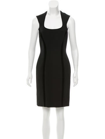 Versace Wool Sheath Dress