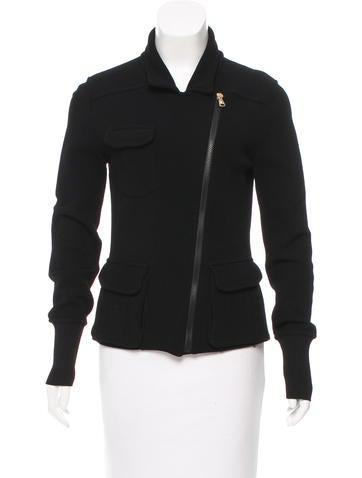 Versace Knit Zipped Jacket None