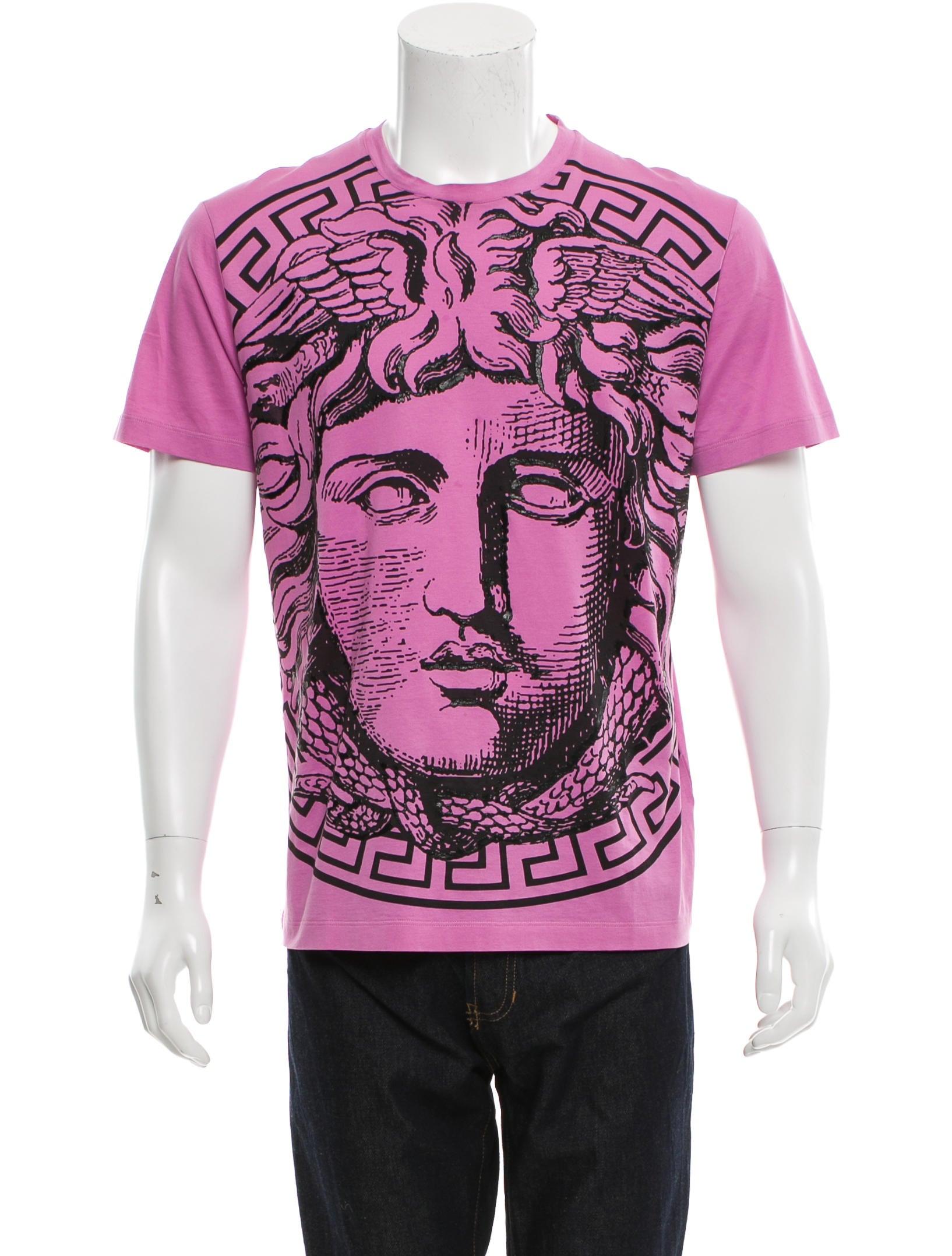 fb036c33 Versace Medusa Graphic Print T-Shirt w/ Tags