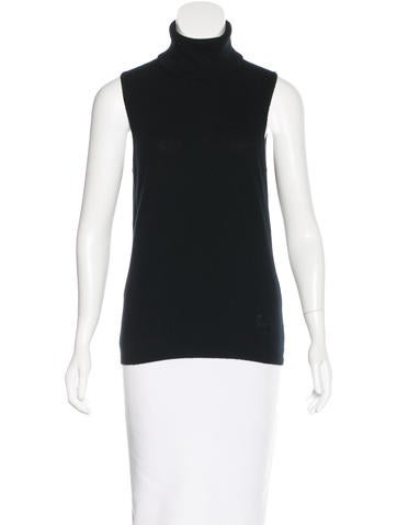 Versace Cashmere Sleeveless Top None