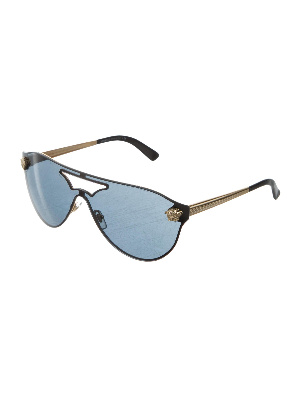b5338d28f34d Versace Medusa Metal Shield Sunglasses