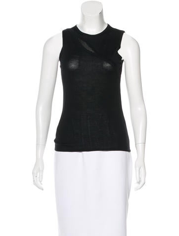 Versace Wool Embellished Top None