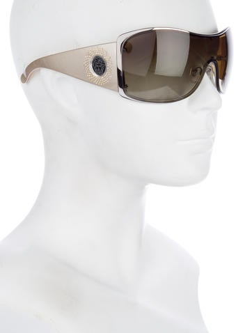 Tinted Shield Sunglasses