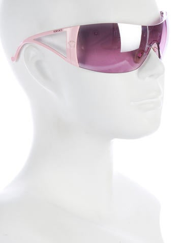 Rimeless Shield Sunglasses