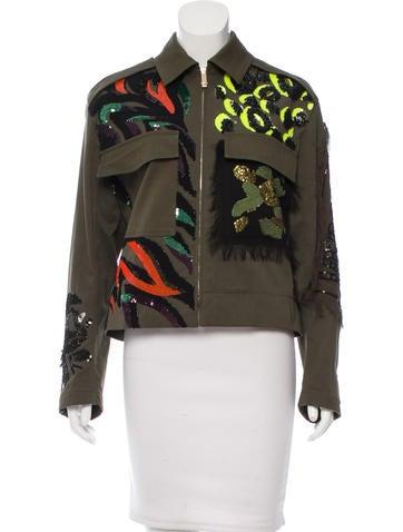Versace 2016 Embellished Jacket