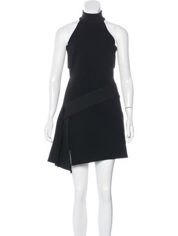 Versace Knit Structured Dress None