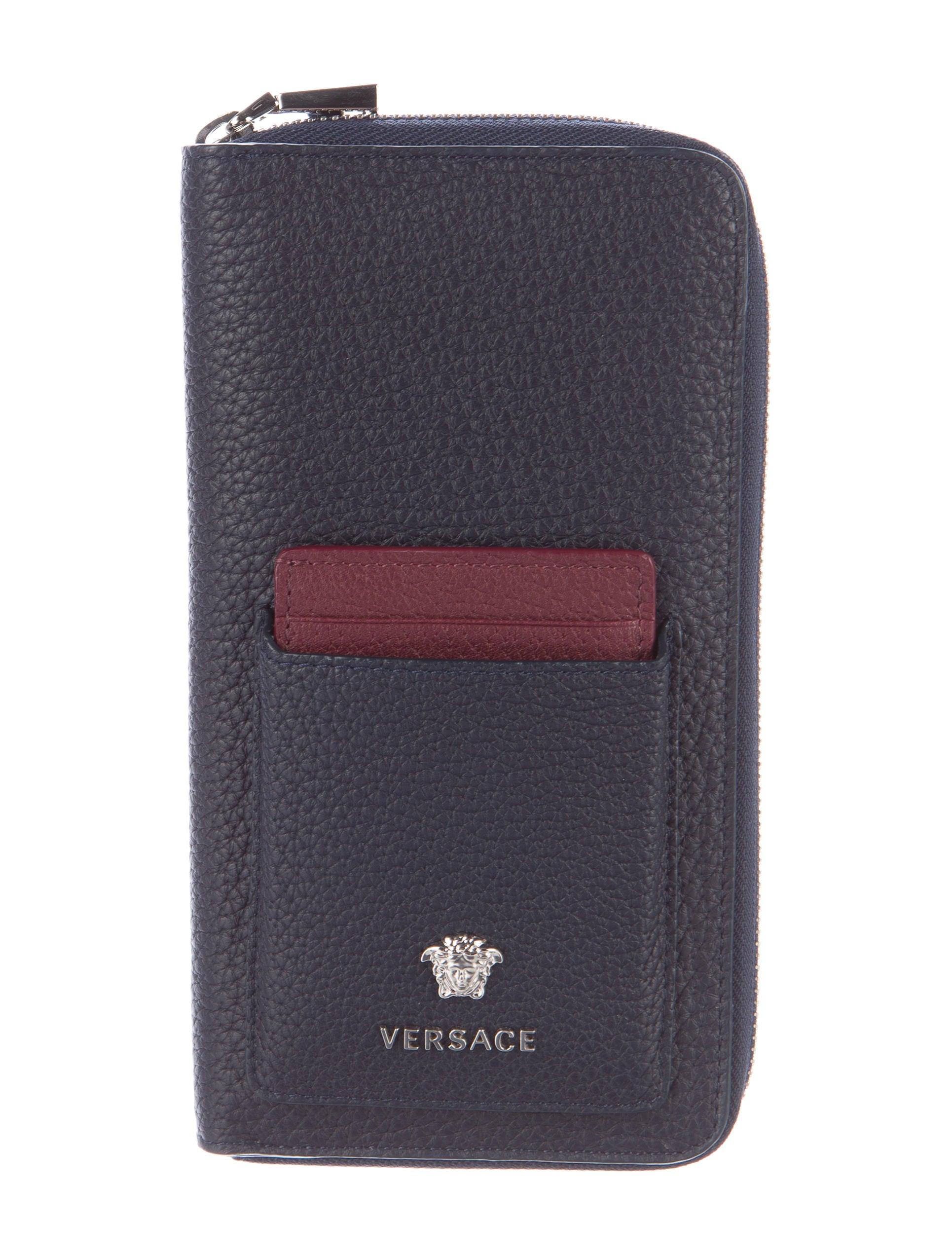Versace continental travel wallet accessories ves28705 the continental travel wallet colourmoves Images