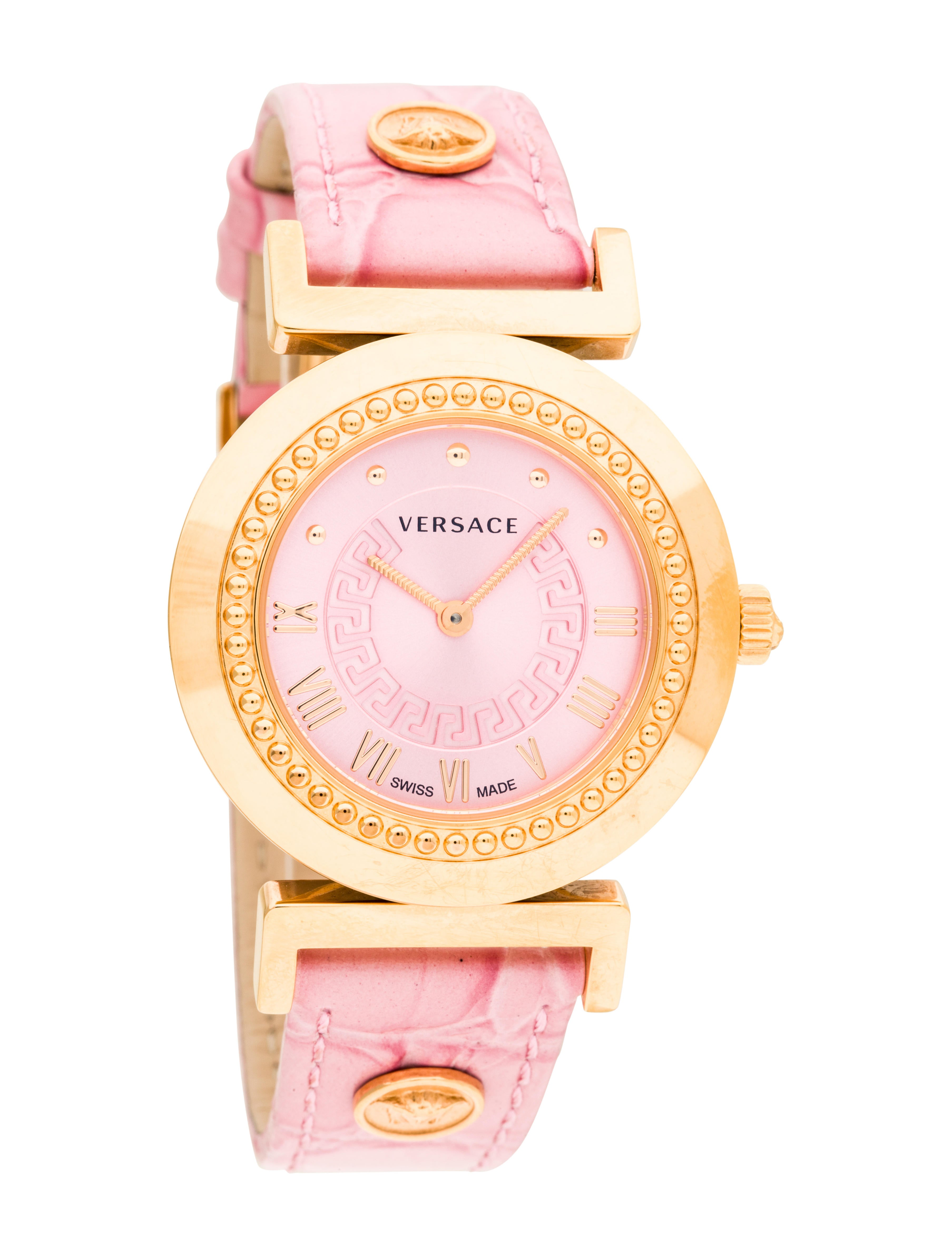 Versace Vanity Watch Strap VES28800 The RealReal : VES288001enlarged from www.therealreal.com size 3614 x 4768 jpeg 700kB