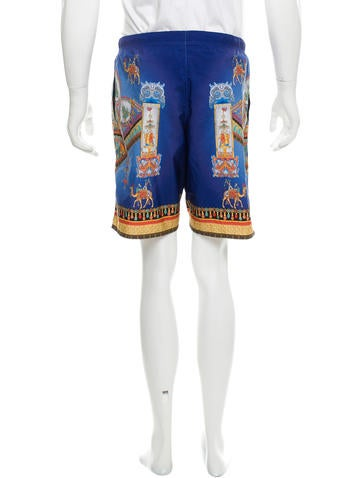 versace marco polo swim trunks clothing ves28854 the realreal. Black Bedroom Furniture Sets. Home Design Ideas