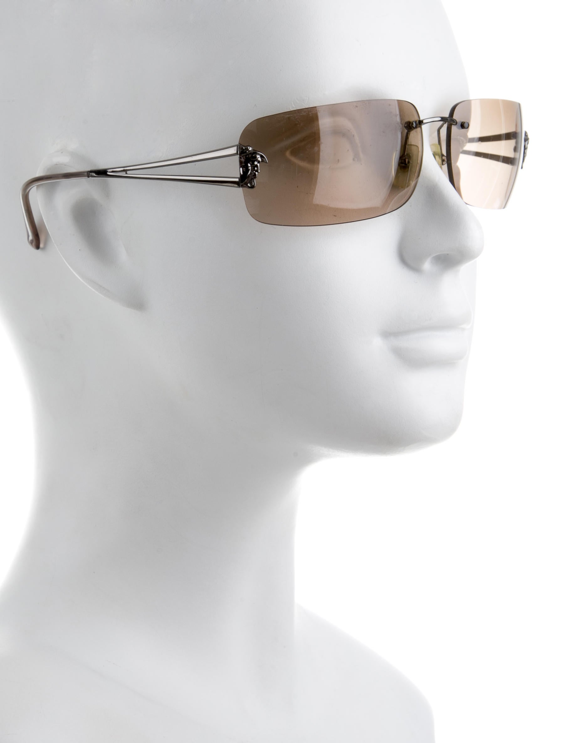 fc9fd1df82da Versace Rimless Glasses