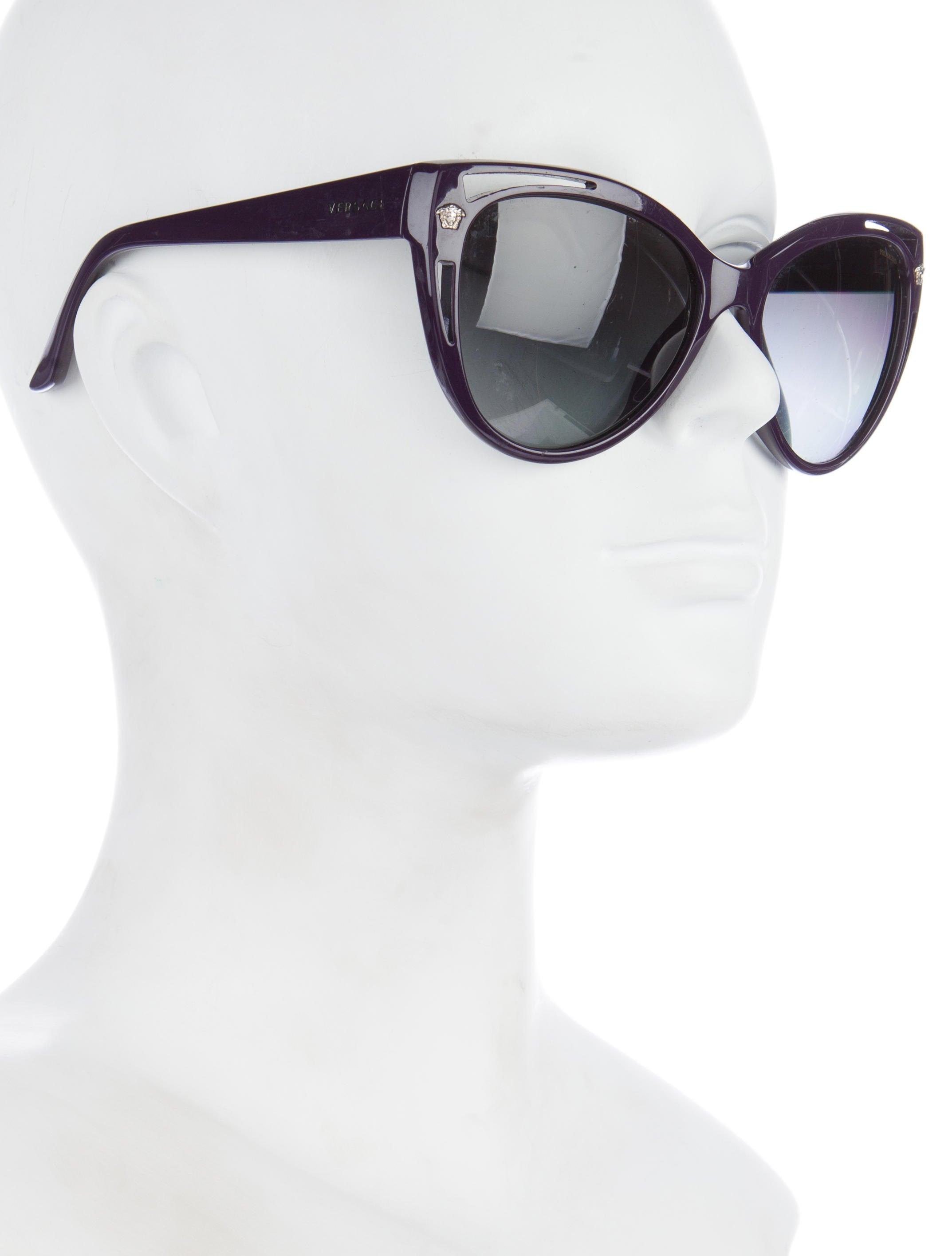 6cc5c1f486a9 Versace Cateye Shield Sunglasses. Versace Cat Eye Sunglasses 2014
