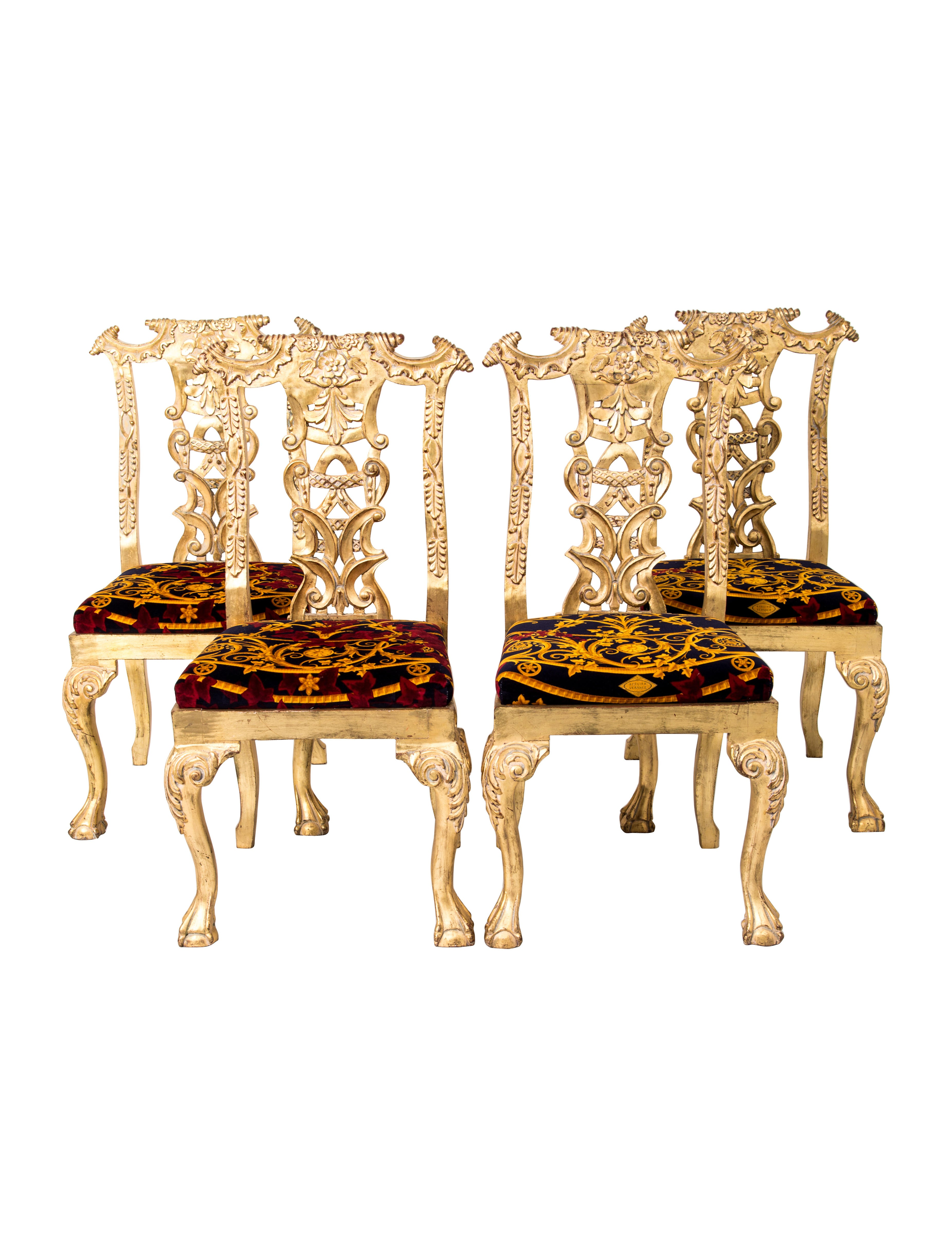Giltwood Dining Chairs