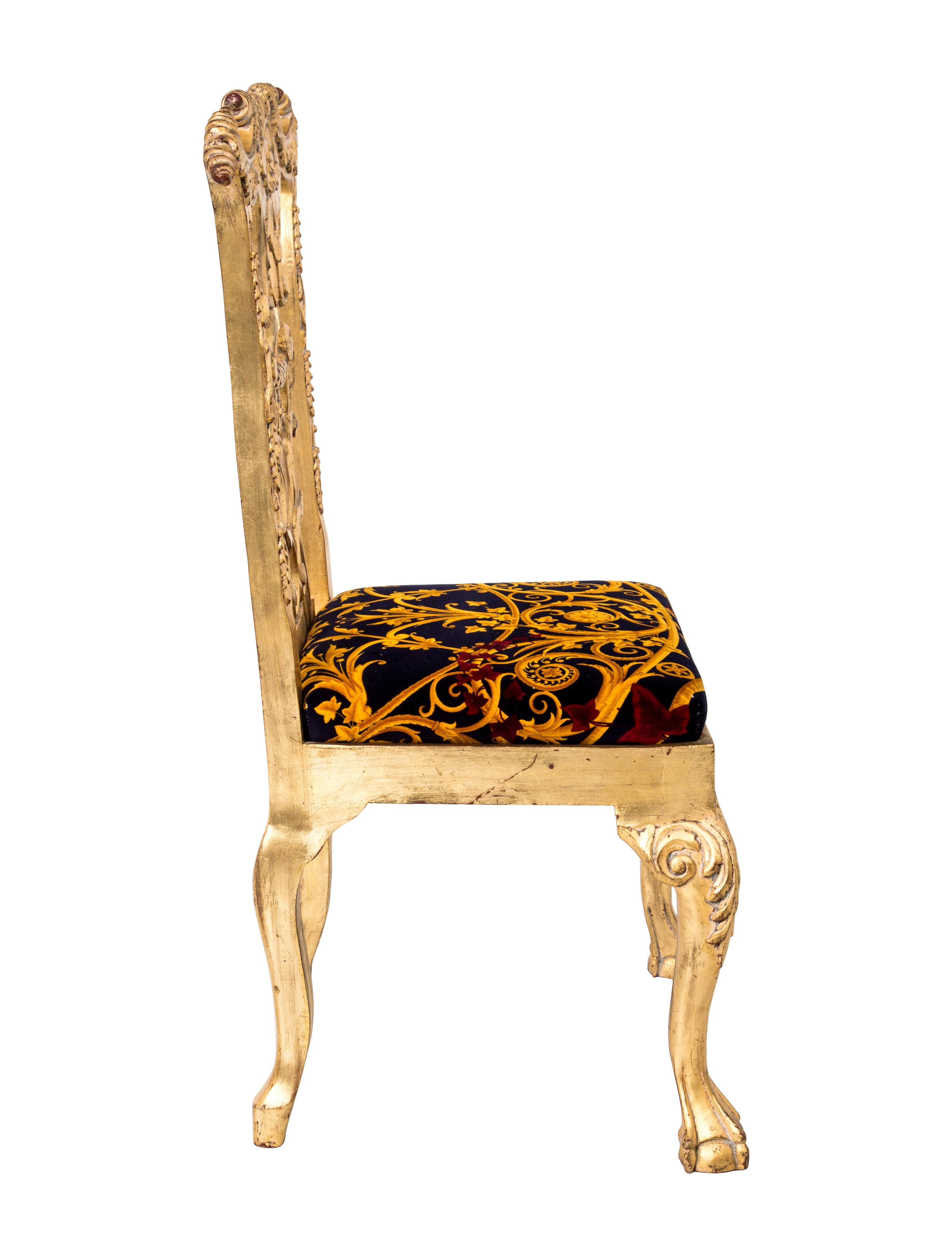 Versace Giltwood Dining Chairs - Furniture - VES29018 | The RealReal
