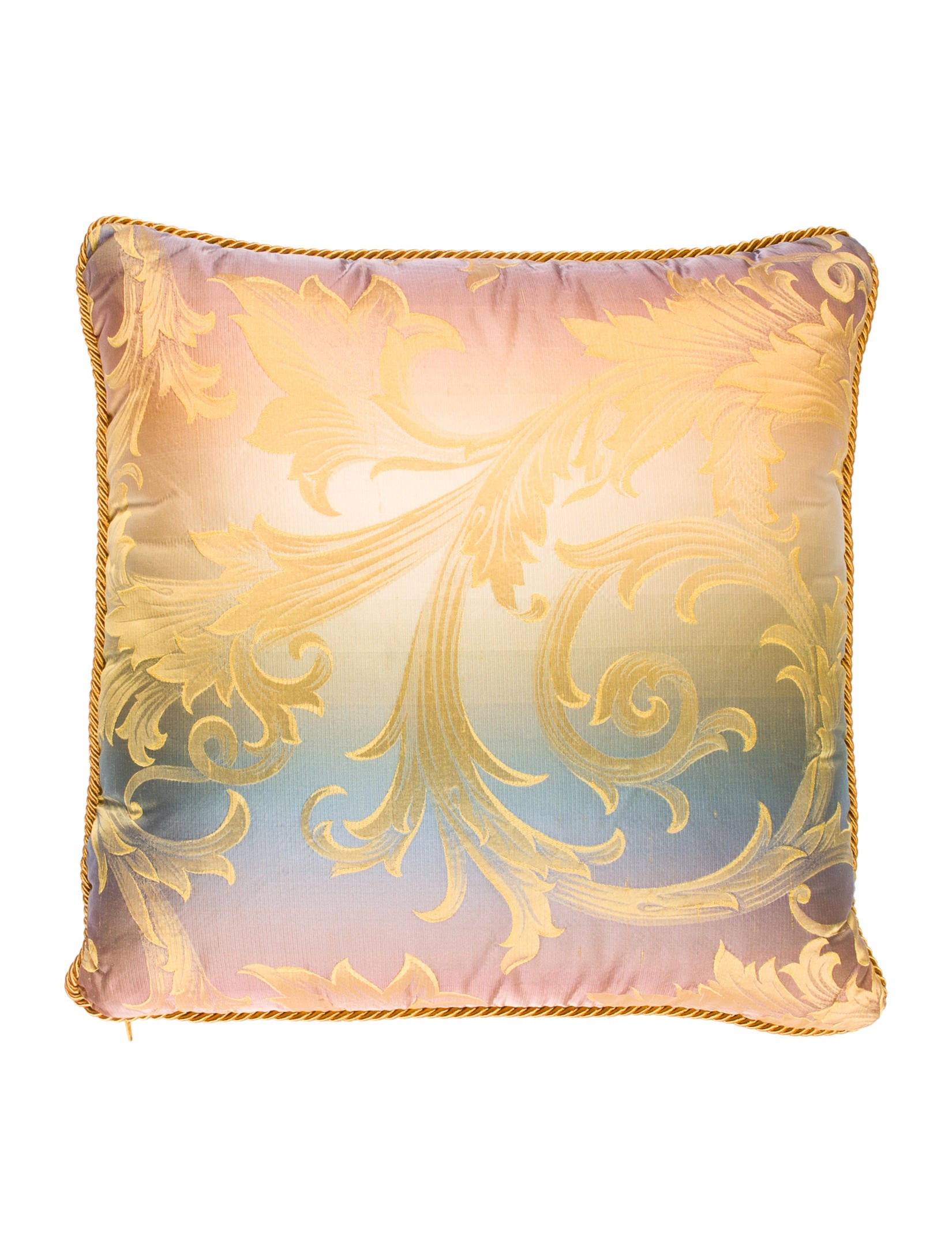 Versace Silk Throw Pillow - Bedding And Bath - VES29762 The RealReal