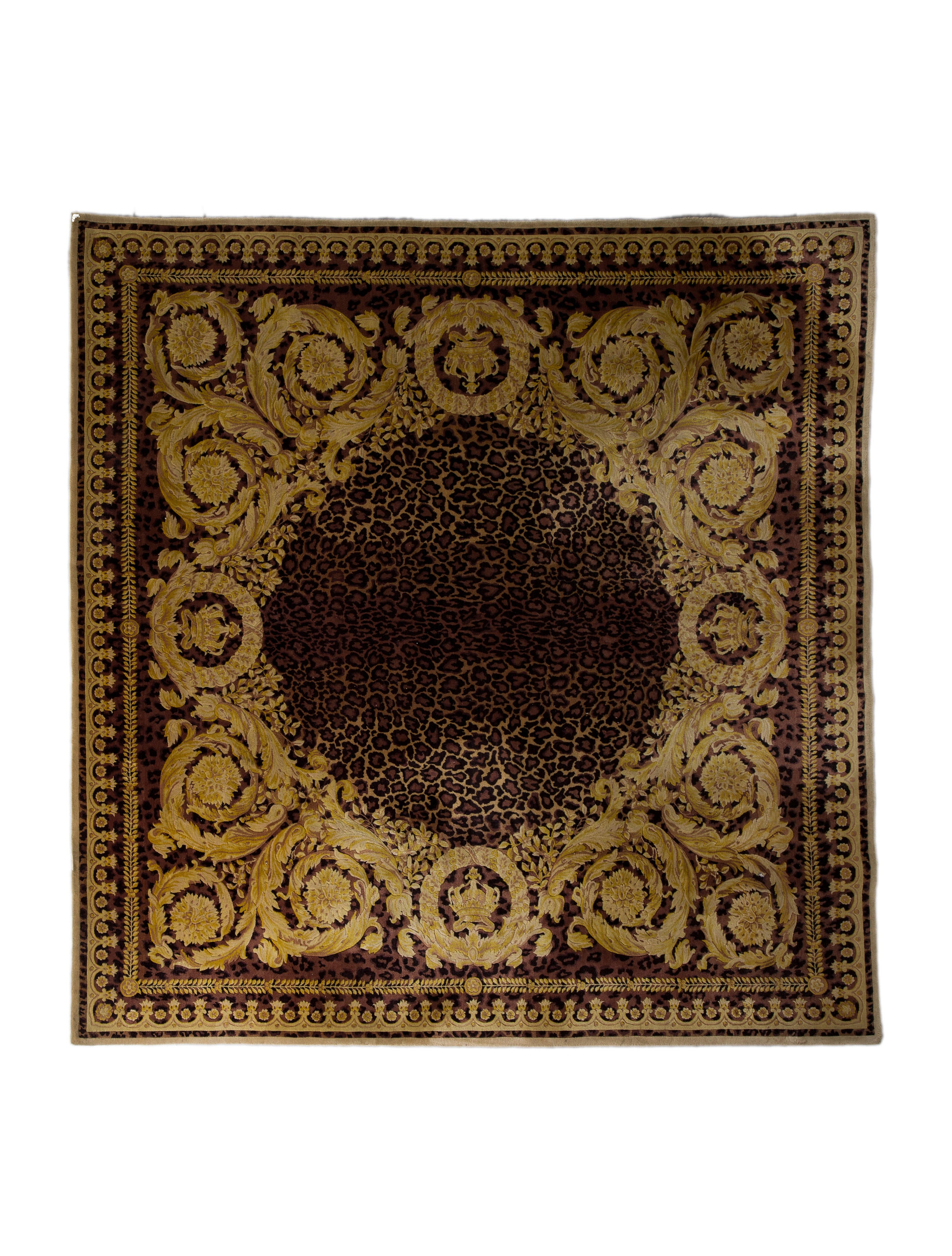 Versace Animalier Rug 7 9 Quot X 8 Rugs Ves29793 The