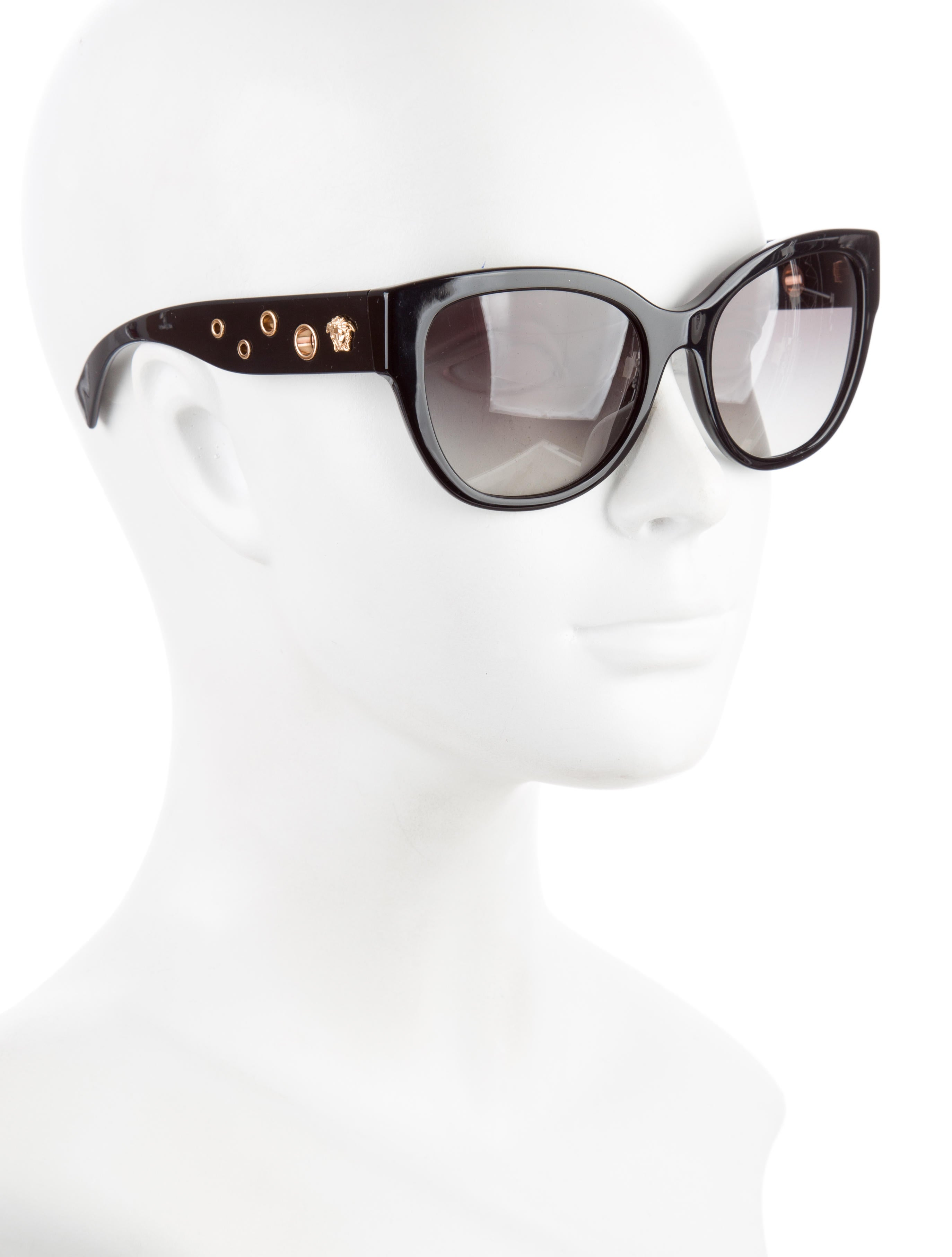 95f37cdbf1 Versace Medusa Cat Eye Sunglasses - Bitterroot Public Library