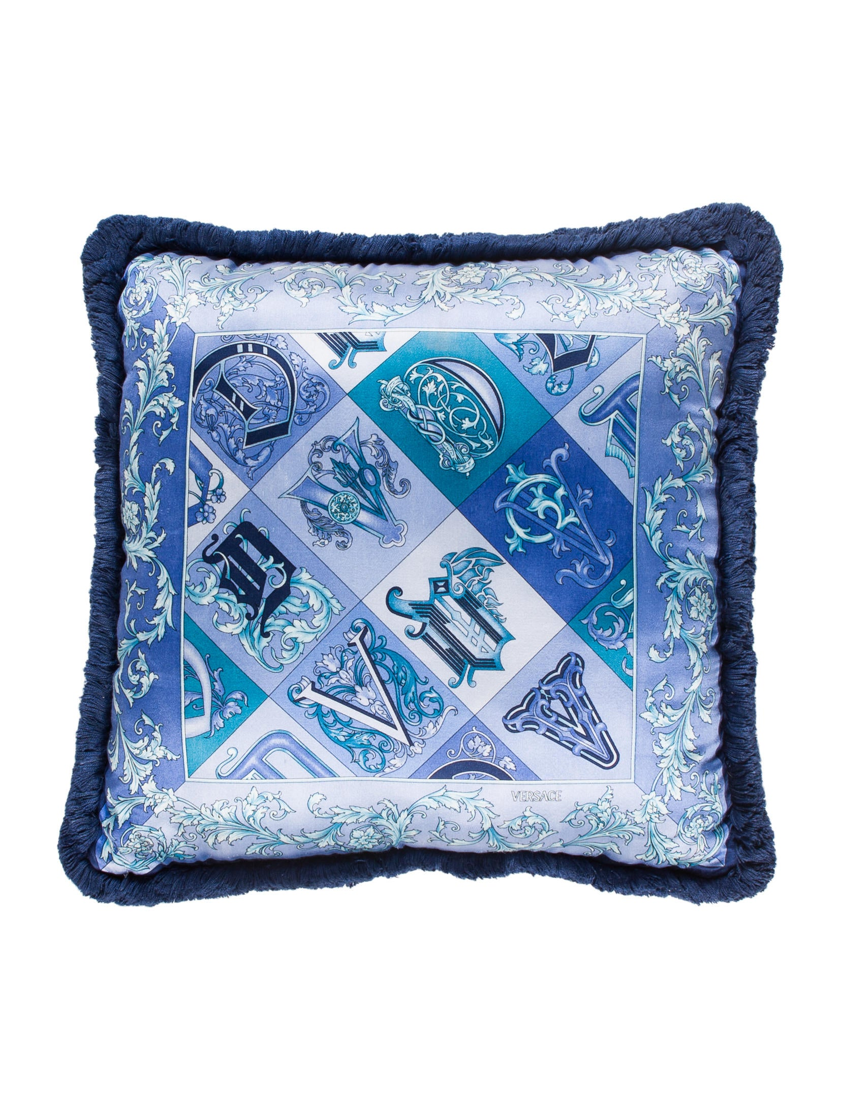 Versace Barocco Throw Pillow - Pillows And Throws - VES30201 The RealReal