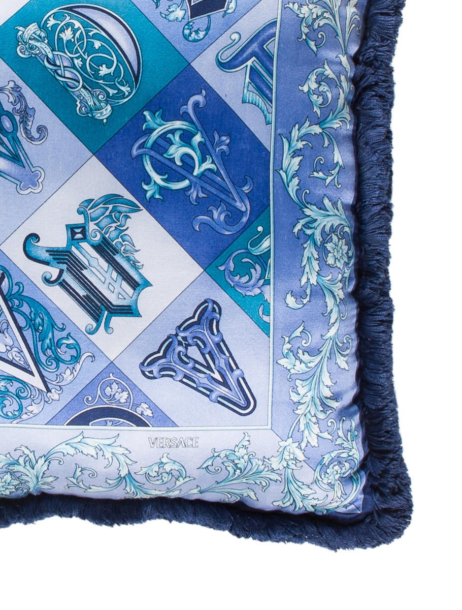 Versace Barocco Throw Pillow - Pillows And Throws - VES30202 The RealReal