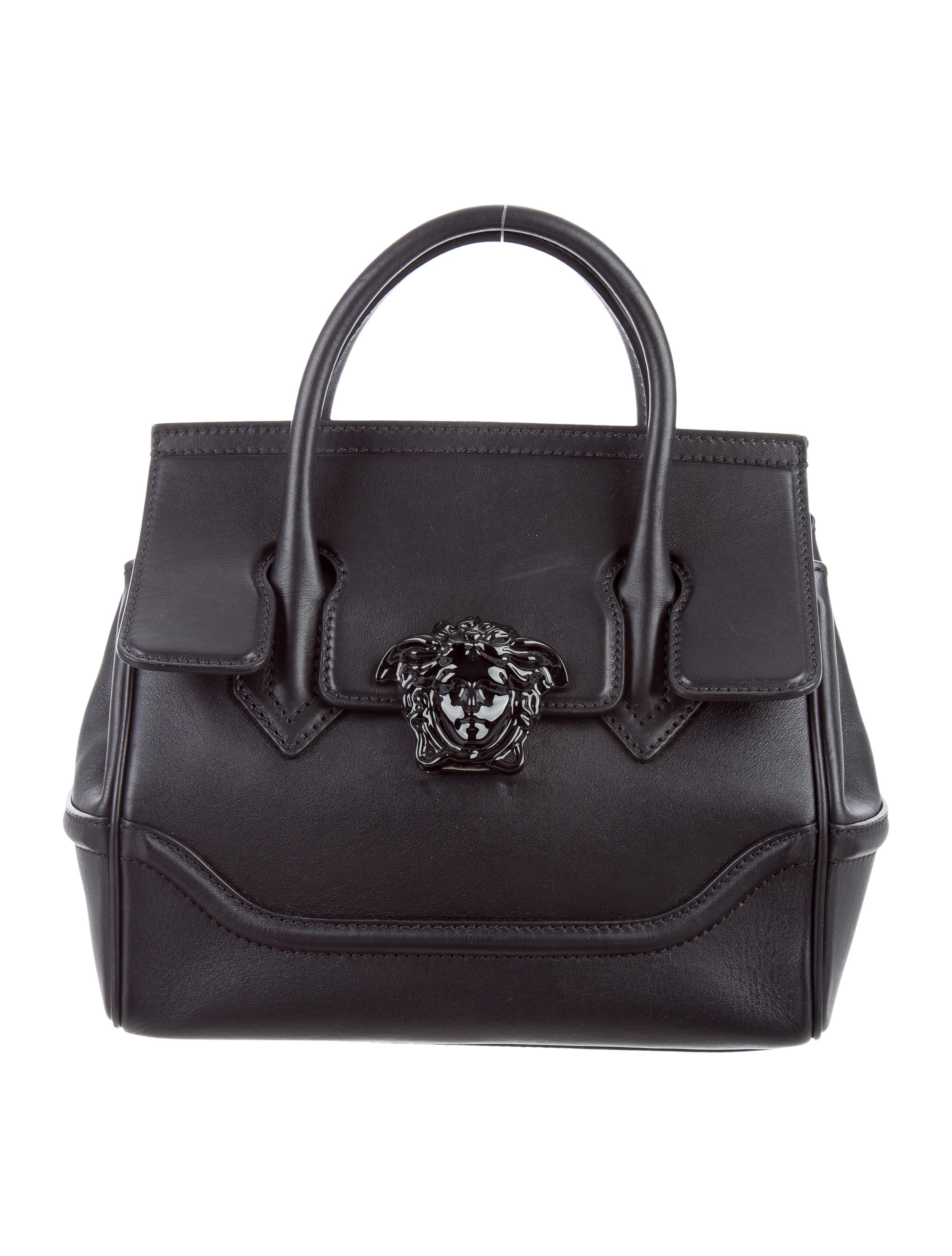 Versace Palazzo Empire Bag Handbags VES30480 The  : VES304801enlarged from www.therealreal.com size 2473 x 3261 jpeg 653kB