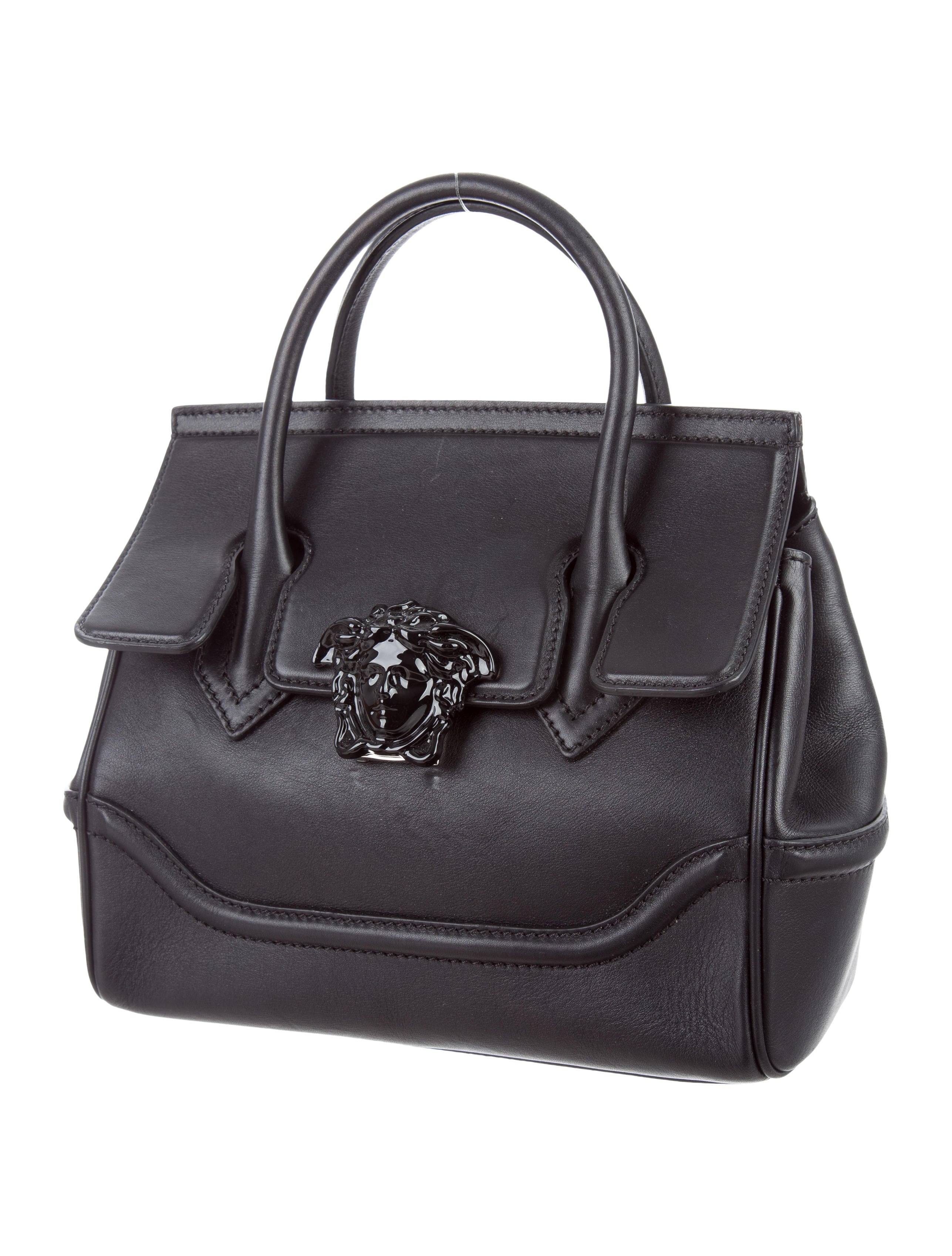 Versace Palazzo Empire Bag Handbags VES30480 The  : VES304803enlarged from www.therealreal.com size 2574 x 3396 jpeg 725kB